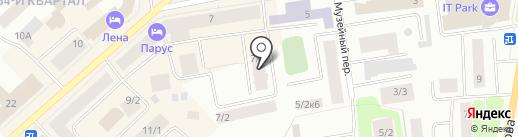 36А на карте Якутска