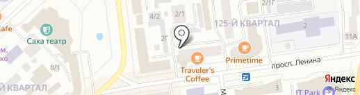 Адвокатский кабинет Ермоченко Ю.В. на карте Якутска