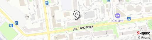 Якутская взрывная компания на карте Якутска