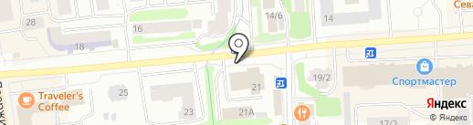 Банкомат, АКБ Алмазэргиэнбанк на карте Якутска