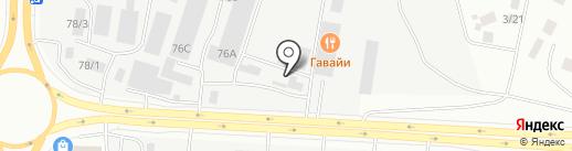 Шиномонтажная мастерская на карте Якутска