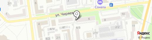 Welcome на карте Якутска