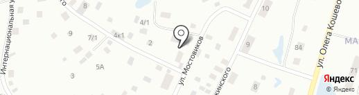 Компания по производству и продаже полистирол-бетонных блоков на карте Якутска