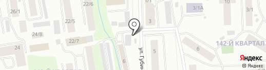 Колесо XXL на карте Якутска