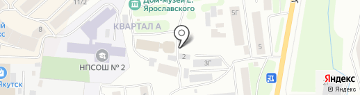 ПРАВОСЛАВНЫЙ СПАССКИЙ МУЖСКОЙ МОНАСТЫРЬ на карте Якутска