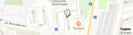 Вектор+ на карте Якутска