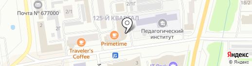 ЯкутБетон на карте Якутска