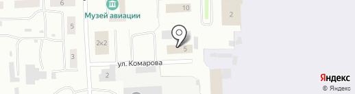 ИНСТИТУТ АЭРОНАВИГАЦИИ, НОУ на карте Якутска