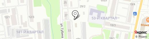 Бетон База на карте Якутска