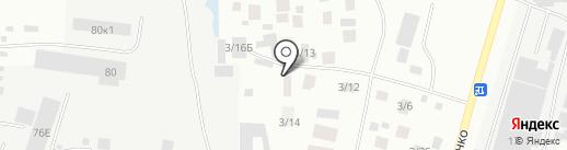 Точка на карте Якутска