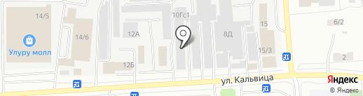 Самурай на карте Якутска