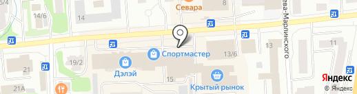 Спорт на карте Якутска