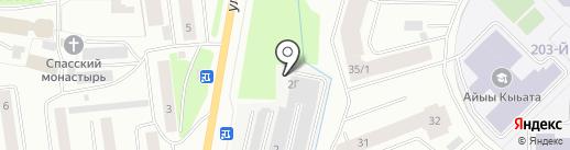 Тех-асс на карте Якутска