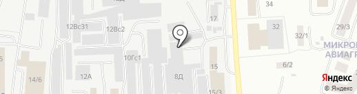 КМ на карте Якутска