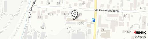 Маяк на карте Якутска