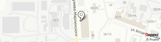Квадратный метр на карте Якутска