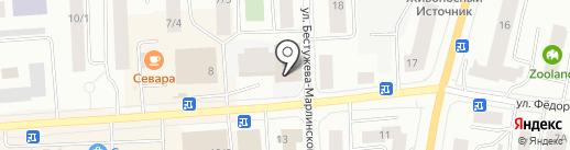 КосмаВеб на карте Якутска