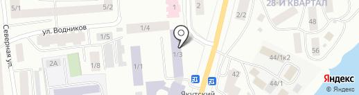 Музей речников Ленского бассейна на карте Якутска
