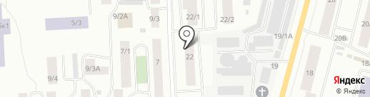 ЧЭГИЭН на карте Якутска