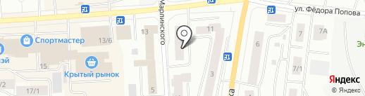 Адвокатский кабинет Косолапова А.В. на карте Якутска