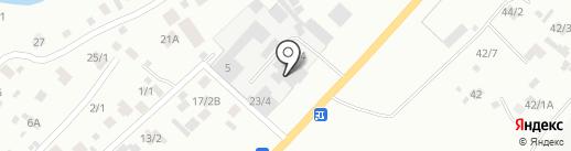 Сеть магазинов по продаже кондитерских и хлебобулочных изделий на карте Якутска