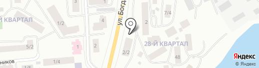 МЕЧ на карте Якутска