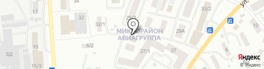 Гастроном на карте Якутска