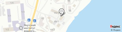 Торговая компания на карте Якутска