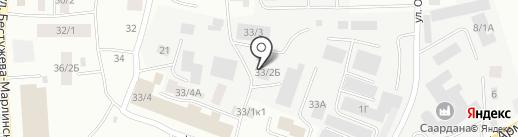 МотоДвижение г. Якутска на карте Якутска