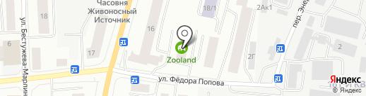 Капкан на карте Якутска