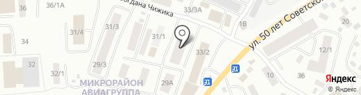 Республиканское ипотечное агентство на карте Якутска