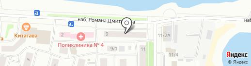 ЛеГоДом на карте Якутска