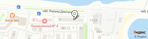 Юстиция на карте Якутска