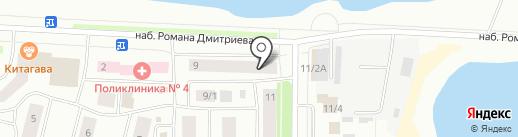 Ипотечный центр Якутии на карте Якутска