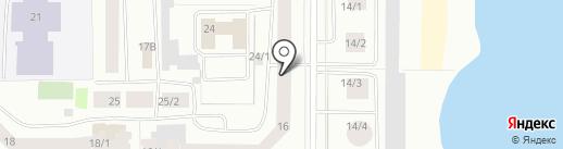 Online на карте Якутска