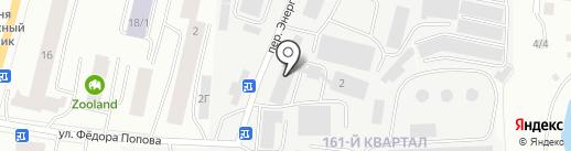 Геоприбор на карте Якутска