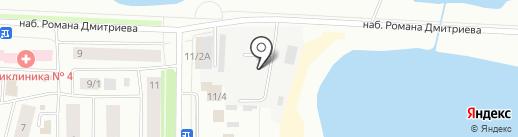 Дальавтоторг на карте Якутска