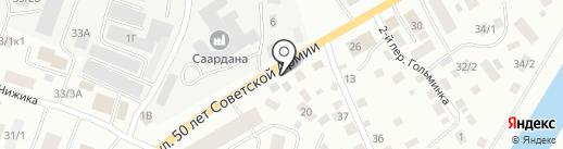Служба ремонта электродвигателей и генераторов на карте Якутска