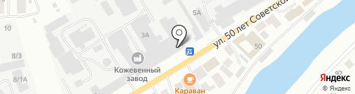 Аккумуляторный магазин на карте Якутска