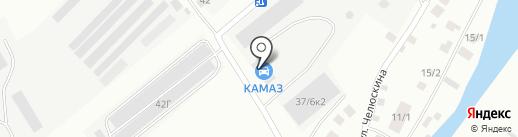 Якутский автоцентр КАМАЗ на карте Якутска