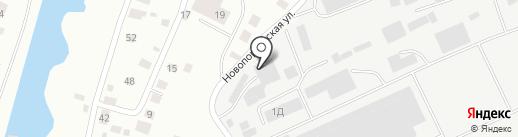 Автогруппа на карте Якутска