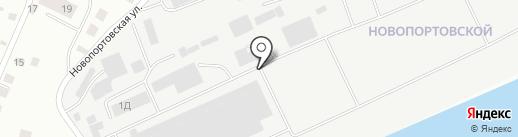 Торгово-производственная компания на карте Якутска