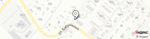 Уголок на карте Якутска