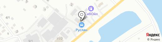 Руслан на карте Якутска