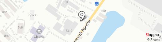 Киоск по продаже фруктов и овощей на карте Якутска