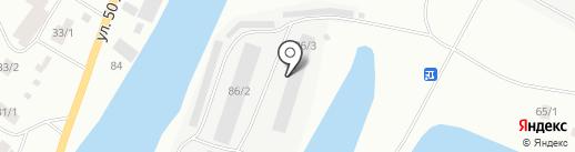 СахаДом 14 на карте Якутска