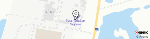 Тахал Консалтинг Инжиниирз, Лтд на карте Якутска