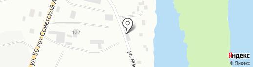 Мархинка на карте Якутска