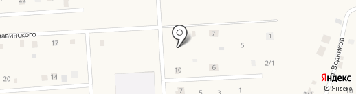 Тёма на карте Жатая