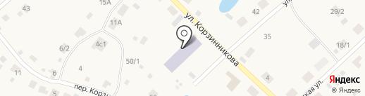 Детский сад №4 на карте Жатая